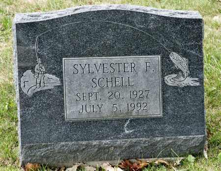 SCHELL, SYLVESTER F - Richland County, Ohio | SYLVESTER F SCHELL - Ohio Gravestone Photos