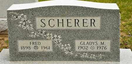 SCHERER, FRED - Richland County, Ohio   FRED SCHERER - Ohio Gravestone Photos