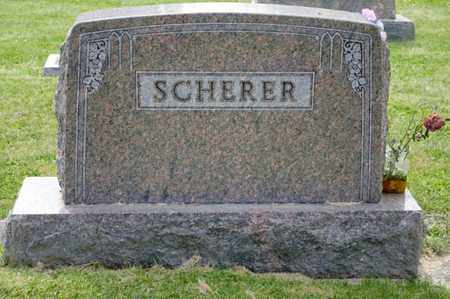 SCHERER, RICHARD H - Richland County, Ohio | RICHARD H SCHERER - Ohio Gravestone Photos