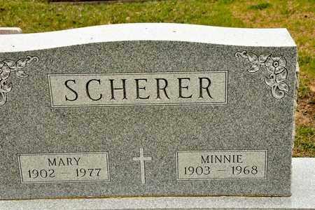 SCHERER, MARY - Richland County, Ohio | MARY SCHERER - Ohio Gravestone Photos