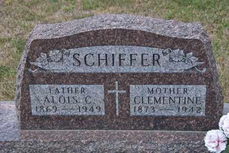 SCHIFFER, CLEMENTINE - Richland County, Ohio | CLEMENTINE SCHIFFER - Ohio Gravestone Photos