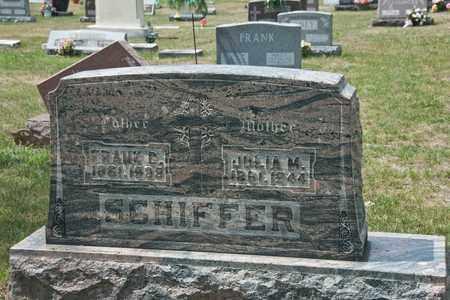 SCHIFFER, JULIA M - Richland County, Ohio | JULIA M SCHIFFER - Ohio Gravestone Photos