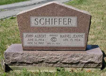 SCHIFFER, JOHN ALBERT - Richland County, Ohio | JOHN ALBERT SCHIFFER - Ohio Gravestone Photos