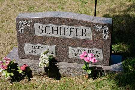 SCHIFFER, ALOYSIUS G - Richland County, Ohio   ALOYSIUS G SCHIFFER - Ohio Gravestone Photos