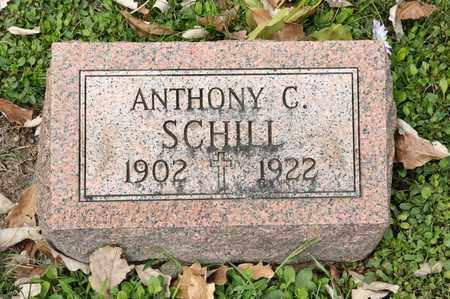 SCHILL, ANTHONY C - Richland County, Ohio   ANTHONY C SCHILL - Ohio Gravestone Photos