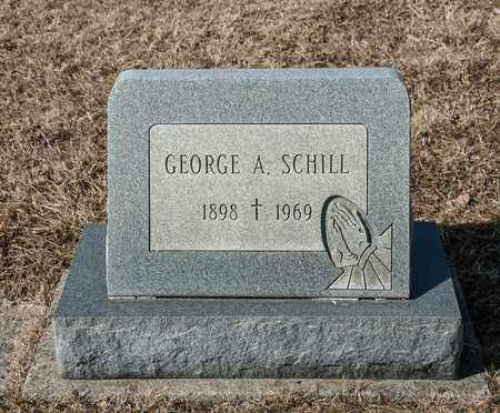 SCHILL, GEORGE A - Richland County, Ohio | GEORGE A SCHILL - Ohio Gravestone Photos