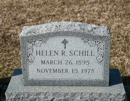 SCHILL, HELEN R - Richland County, Ohio | HELEN R SCHILL - Ohio Gravestone Photos