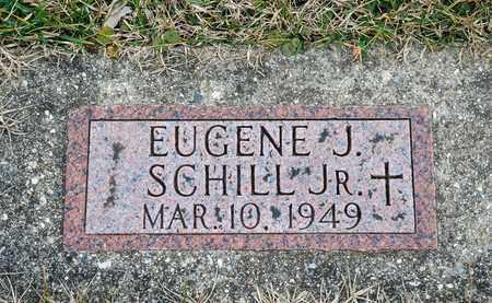 SCHILL JR, EUGENE J - Richland County, Ohio | EUGENE J SCHILL JR - Ohio Gravestone Photos