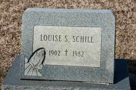 SCHILL, LOUISE S - Richland County, Ohio   LOUISE S SCHILL - Ohio Gravestone Photos
