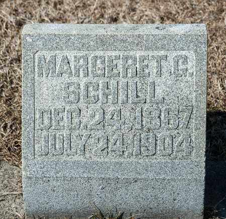 SCHILL, MARGERET G - Richland County, Ohio   MARGERET G SCHILL - Ohio Gravestone Photos
