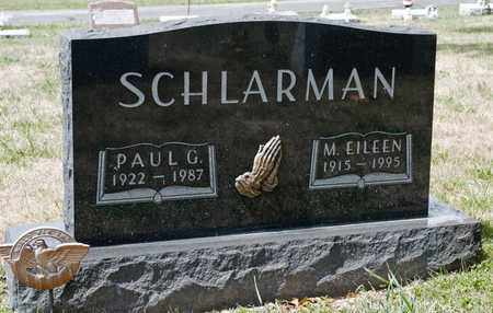 SCHLARMAN, PAUL G - Richland County, Ohio | PAUL G SCHLARMAN - Ohio Gravestone Photos