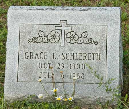 SCHLERETH, GRACE L - Richland County, Ohio   GRACE L SCHLERETH - Ohio Gravestone Photos