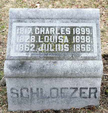 SCHLOEZER, JULIUS - Richland County, Ohio | JULIUS SCHLOEZER - Ohio Gravestone Photos