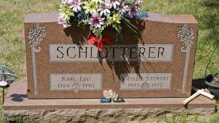 STEWART SCHLOTTERER, PHYLLIS - Richland County, Ohio | PHYLLIS STEWART SCHLOTTERER - Ohio Gravestone Photos