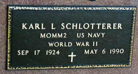 SCHLOTTERER, KARL LEO - Richland County, Ohio | KARL LEO SCHLOTTERER - Ohio Gravestone Photos