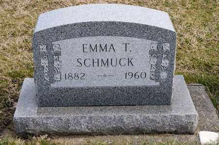 SCHMUCK, EMMA T - Richland County, Ohio   EMMA T SCHMUCK - Ohio Gravestone Photos