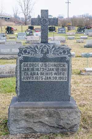SCHMUCK, GEORGE J - Richland County, Ohio | GEORGE J SCHMUCK - Ohio Gravestone Photos