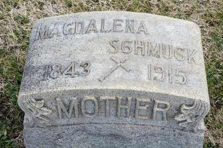 SCHMUCK, MAGDALENA - Richland County, Ohio | MAGDALENA SCHMUCK - Ohio Gravestone Photos