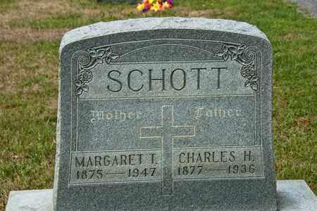 SCHOTT, CHARLES H - Richland County, Ohio | CHARLES H SCHOTT - Ohio Gravestone Photos
