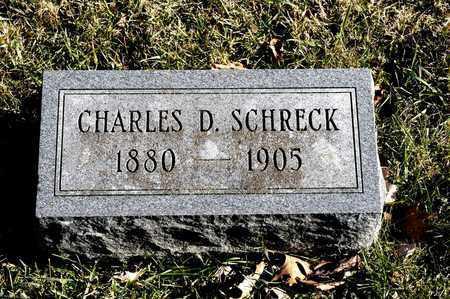 SCHRECK, CHARLES D - Richland County, Ohio   CHARLES D SCHRECK - Ohio Gravestone Photos