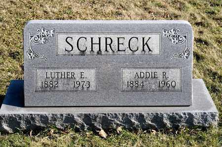 SCHRECK, LUTHER E - Richland County, Ohio   LUTHER E SCHRECK - Ohio Gravestone Photos