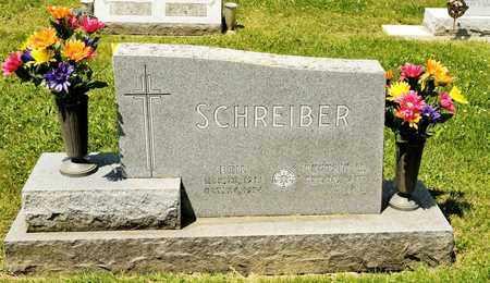 SCHREIBER, EMIL - Richland County, Ohio | EMIL SCHREIBER - Ohio Gravestone Photos