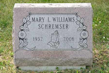 SCHREMSER, MARY L - Richland County, Ohio | MARY L SCHREMSER - Ohio Gravestone Photos