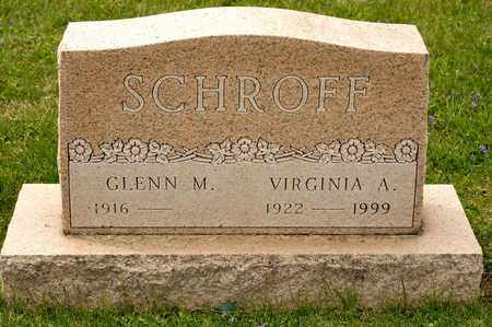 SCHROFF, VIRGINIA A - Richland County, Ohio | VIRGINIA A SCHROFF - Ohio Gravestone Photos
