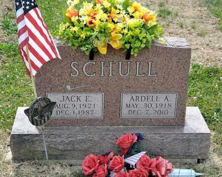 SCHULL, ARDELL A - Richland County, Ohio   ARDELL A SCHULL - Ohio Gravestone Photos