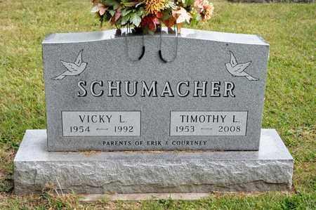 SCHUMACHER, TIMOTHY L - Richland County, Ohio | TIMOTHY L SCHUMACHER - Ohio Gravestone Photos