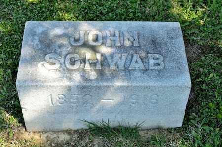 SCHWAB, JOHN - Richland County, Ohio | JOHN SCHWAB - Ohio Gravestone Photos