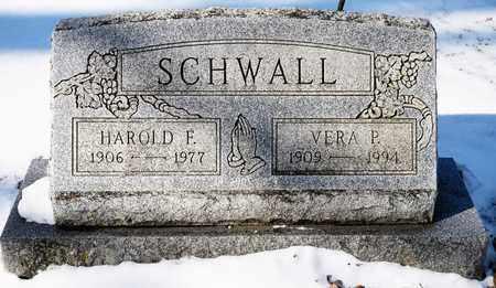 SCHWALL, VERA P - Richland County, Ohio | VERA P SCHWALL - Ohio Gravestone Photos