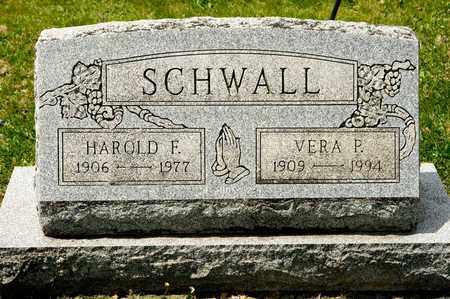 SCHWALL, HAROLD F - Richland County, Ohio | HAROLD F SCHWALL - Ohio Gravestone Photos