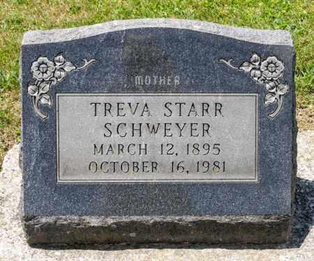 STARR SCHWEYER, TREVA - Richland County, Ohio | TREVA STARR SCHWEYER - Ohio Gravestone Photos