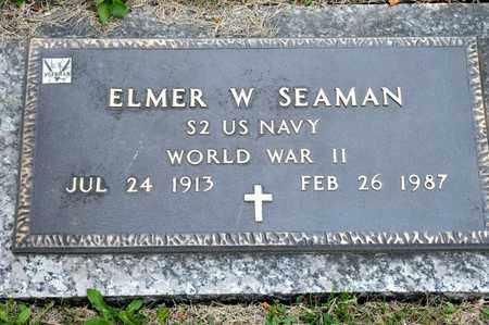 SEAMAN, ELMER W - Richland County, Ohio | ELMER W SEAMAN - Ohio Gravestone Photos