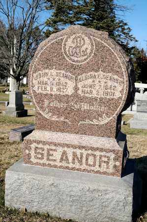 SEANOR, ALGIRA ELLEN - Richland County, Ohio | ALGIRA ELLEN SEANOR - Ohio Gravestone Photos