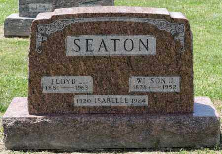 SEATON, WILSON J - Richland County, Ohio | WILSON J SEATON - Ohio Gravestone Photos