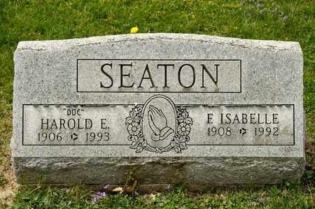 SEATON, HAROLD E - Richland County, Ohio   HAROLD E SEATON - Ohio Gravestone Photos