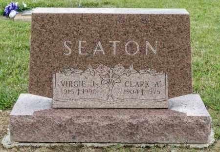 SEATON, CLARK A - Richland County, Ohio | CLARK A SEATON - Ohio Gravestone Photos