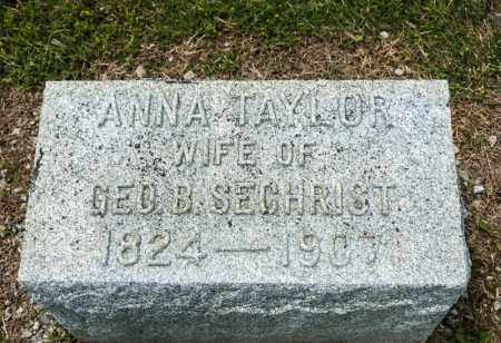 SECHRIST, ANNA - Richland County, Ohio | ANNA SECHRIST - Ohio Gravestone Photos
