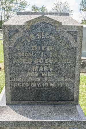 SECHRIST, PETER - Richland County, Ohio | PETER SECHRIST - Ohio Gravestone Photos