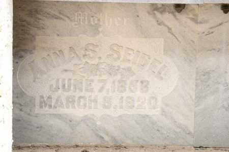 SEIDEL, ANNA S - Richland County, Ohio | ANNA S SEIDEL - Ohio Gravestone Photos