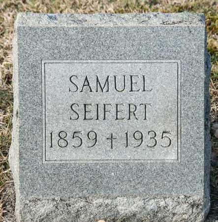 SEIFERT, SAMUEL - Richland County, Ohio | SAMUEL SEIFERT - Ohio Gravestone Photos