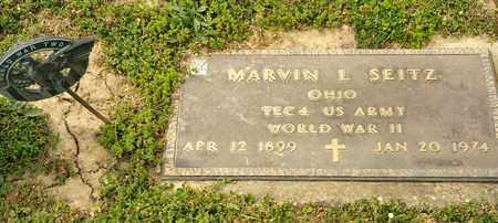 SEITZ, MARVIN L - Richland County, Ohio | MARVIN L SEITZ - Ohio Gravestone Photos