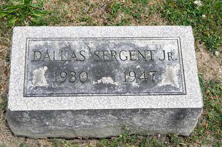 SERGENT JR, DALLAS - Richland County, Ohio | DALLAS SERGENT JR - Ohio Gravestone Photos