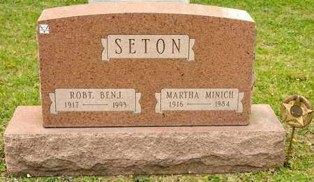 MINICH SETON, MARTHA - Richland County, Ohio | MARTHA MINICH SETON - Ohio Gravestone Photos