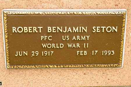 SETON, ROBERT BENJAMIN - Richland County, Ohio | ROBERT BENJAMIN SETON - Ohio Gravestone Photos