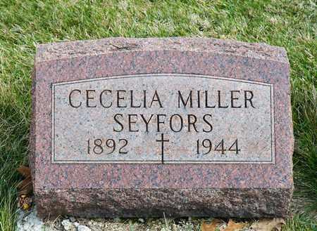 MILLER SEYFORS, CECELIA - Richland County, Ohio | CECELIA MILLER SEYFORS - Ohio Gravestone Photos