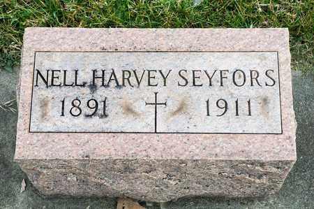 SEYFORS, NELL - Richland County, Ohio   NELL SEYFORS - Ohio Gravestone Photos