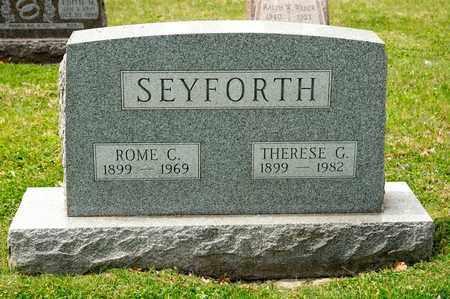 SEYFORTH, ROME C - Richland County, Ohio | ROME C SEYFORTH - Ohio Gravestone Photos